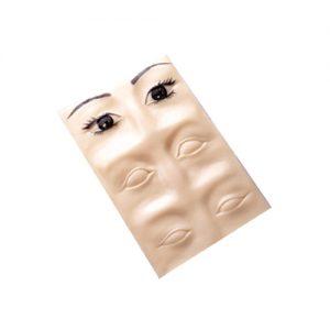 3D koža za vežbanje – oči i obrve
